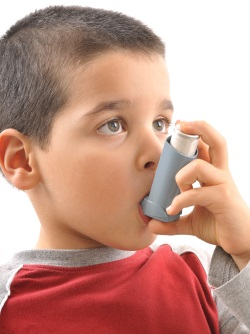 Boy with Asthma in Tampa